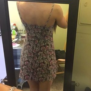 American Eagle Outfitters Dresses - AE button up floral dress